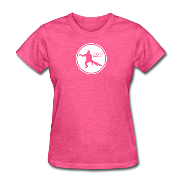 Tai Chi Daily T-Shirt - heather pink