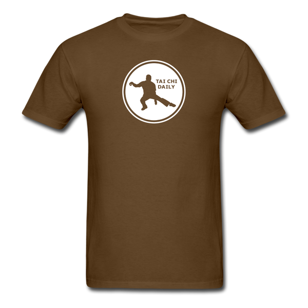 Tai Chi Daily T-Shirt - brown