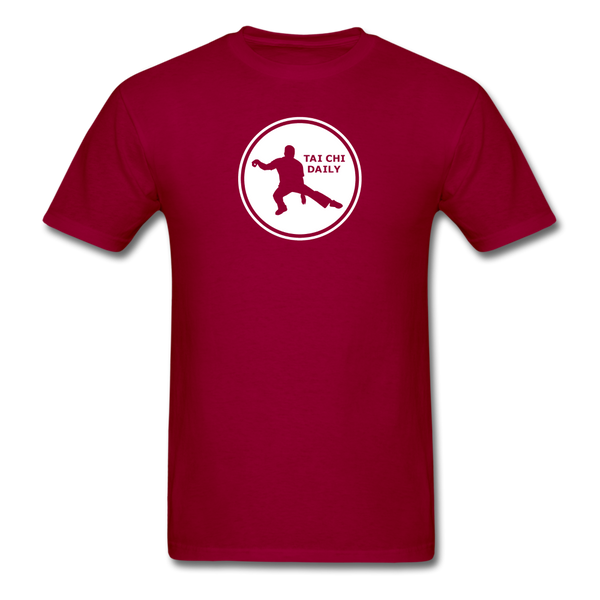 Tai Chi Daily T-Shirt - dark red
