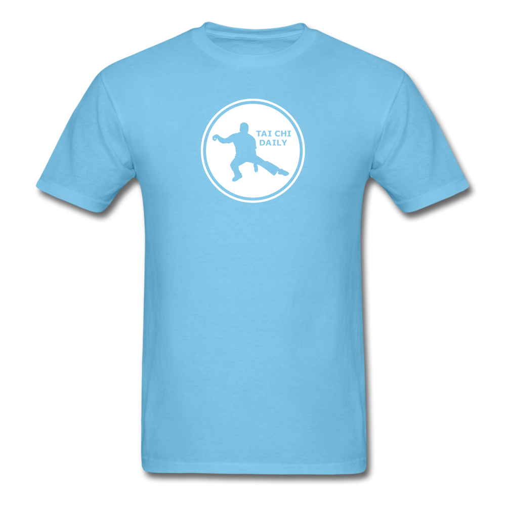 Tai Chi Daily T-Shirt - aquatic blue