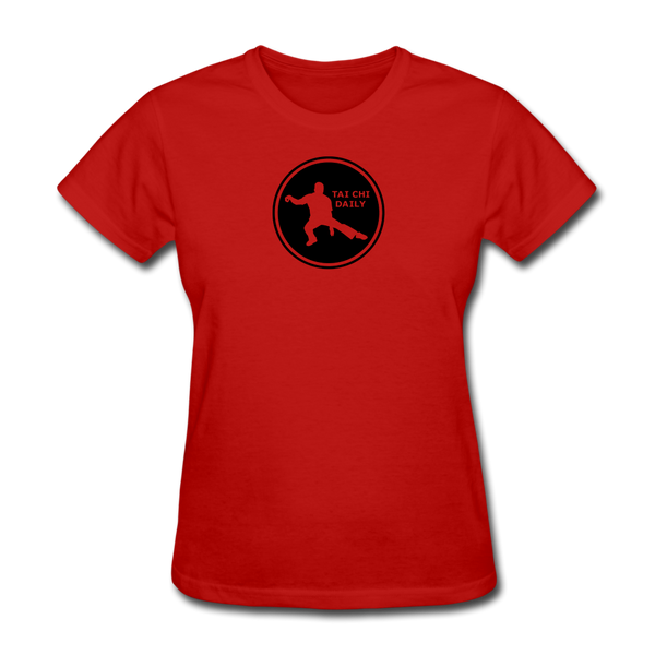 Tai Chi Daily T-Shirt - red