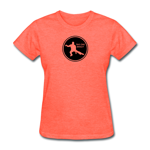 Tai Chi Daily T-Shirt - heather coral