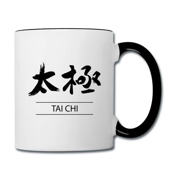 Tai Chi Mug - white/black