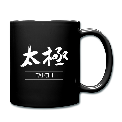 Tai Chi Coffee Mug - black