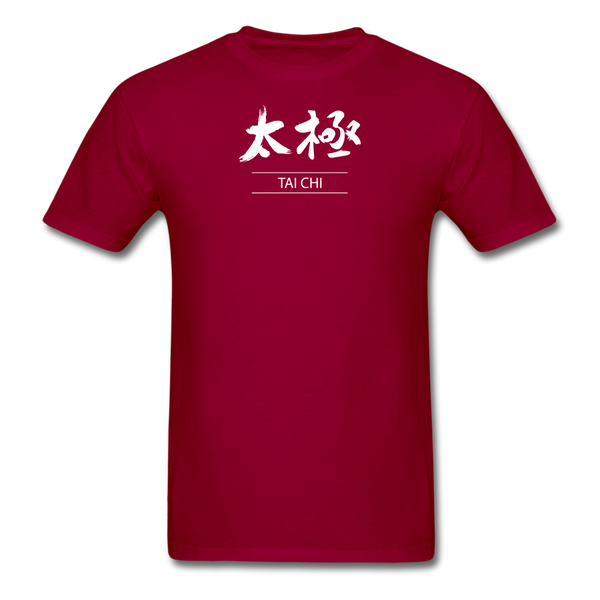 Tai Chi T-Shirt - dark red