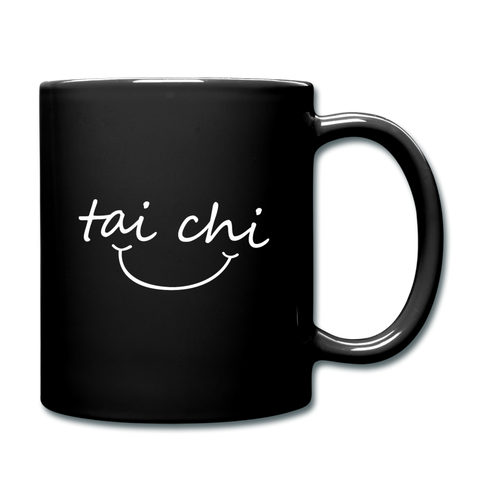 Tai Chi Smile Mug - black