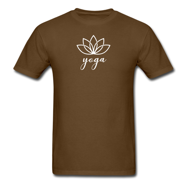 Men's Yoga T-Shirt - brown