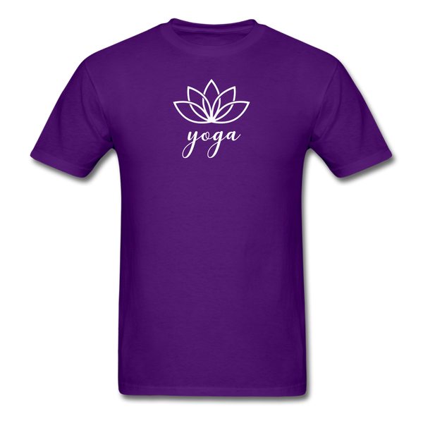 Men's Yoga T-Shirt - purple