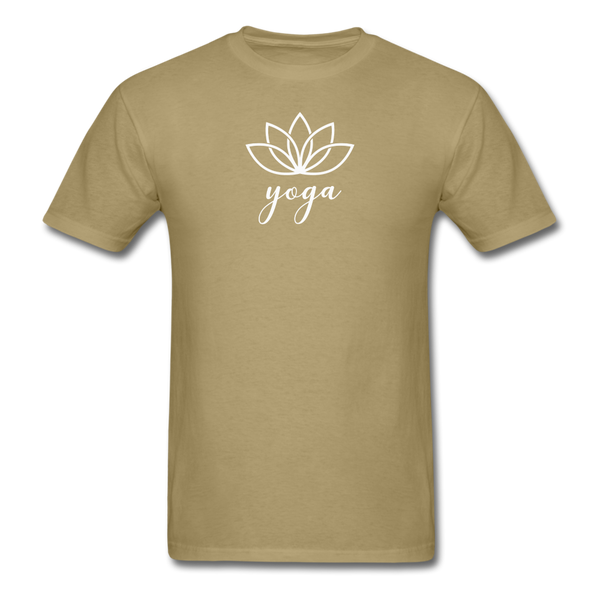 Men's Yoga T-Shirt - khaki