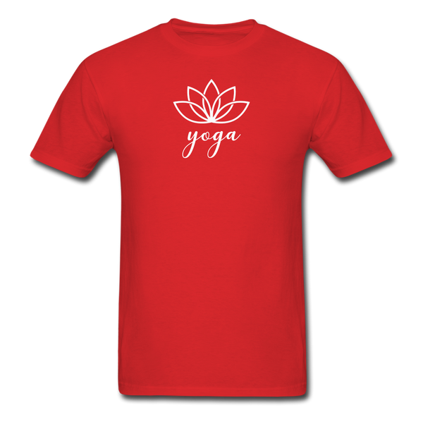 Men's Yoga T-Shirt - red