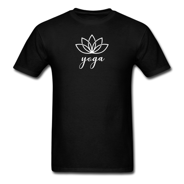 Men's Yoga T-Shirt - black