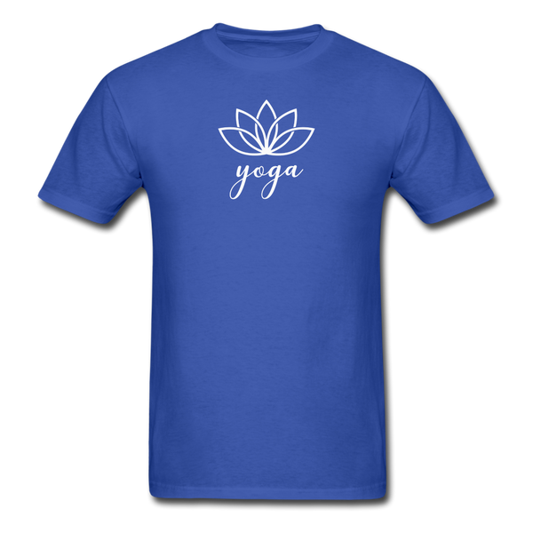 Men's Yoga T-Shirt - royal blue