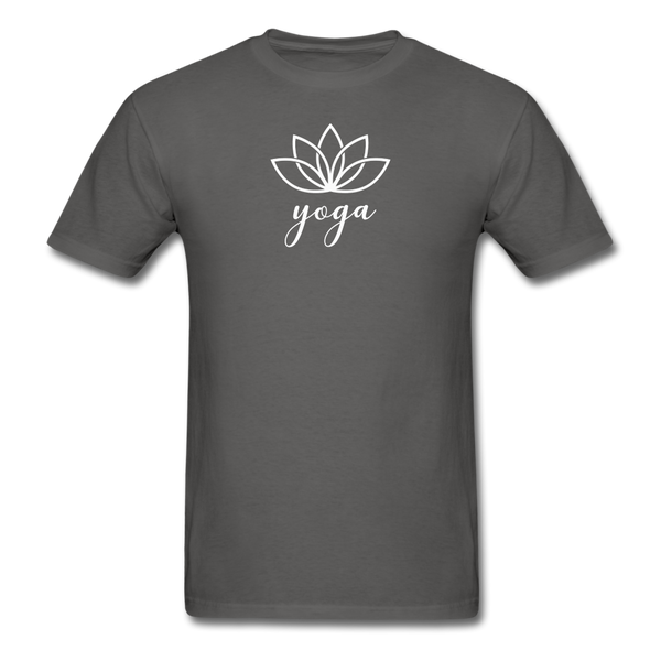 Men's Yoga T-Shirt - charcoal