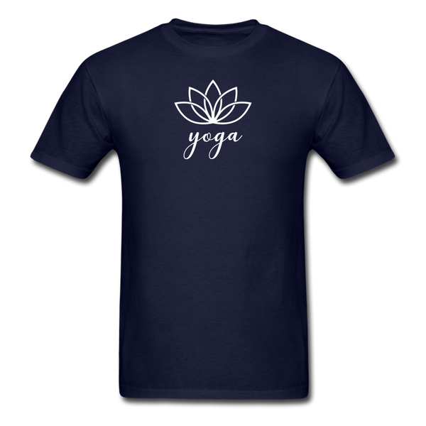 Men's Yoga T-Shirt - navy