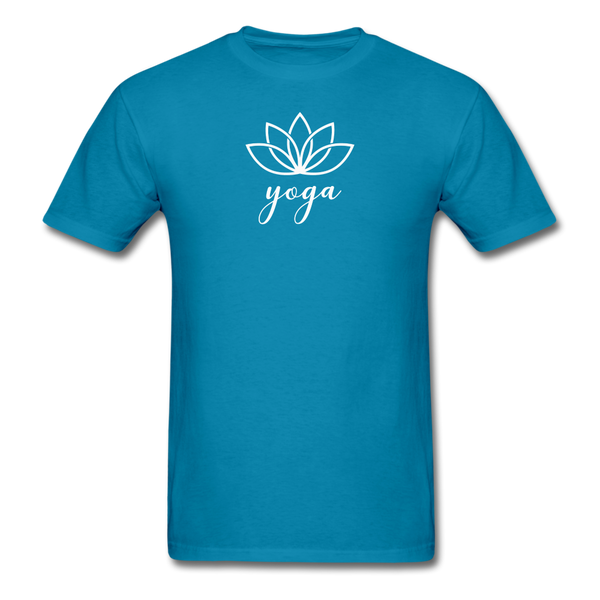 Men's Yoga T-Shirt - turquoise