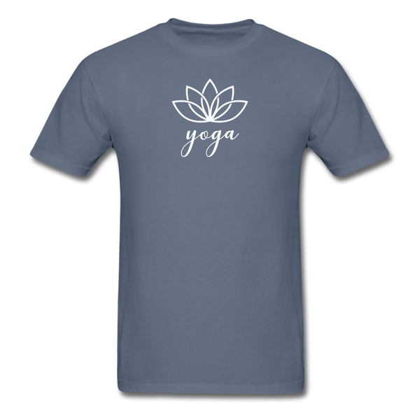 Men's Yoga T-Shirt - denim