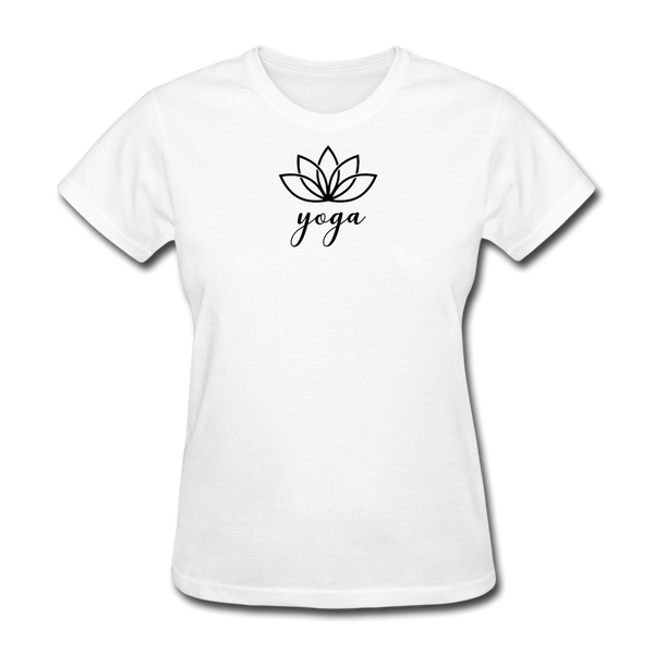 Women's Yoga T-Shirt - white