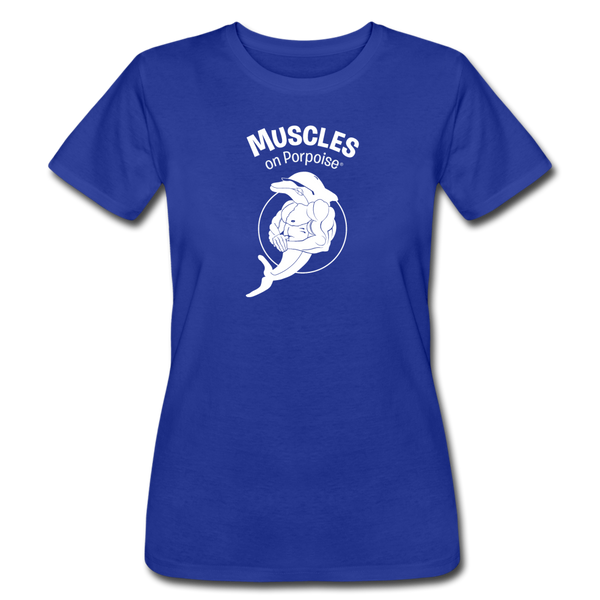 Muscles on Porpoise® Women's Jersey T-Shirt - royal blue
