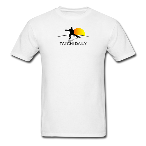 Tai Chi Daily Men's T-Shirt - white