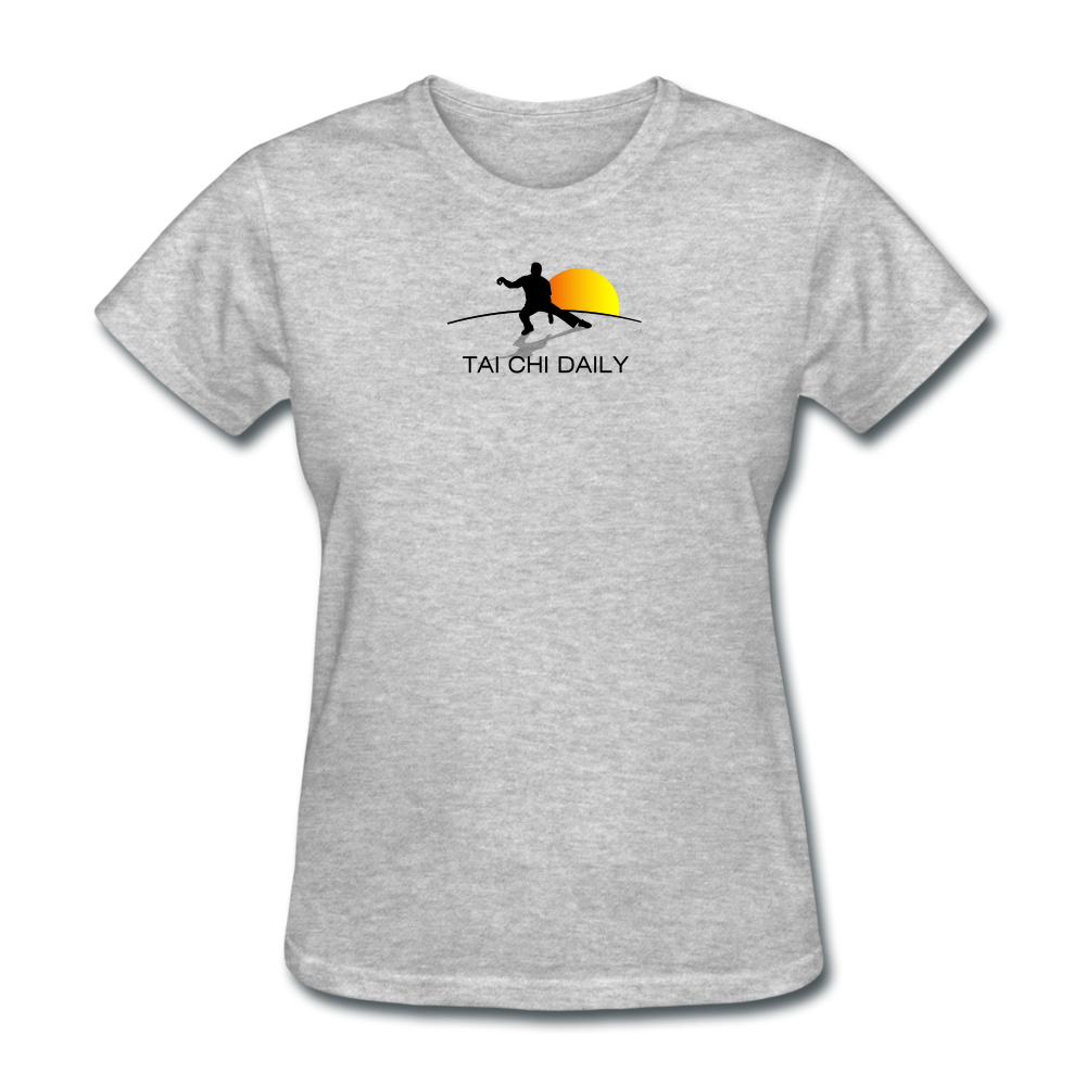 Tai Chi Daily Women's T-Shirt - heather gray