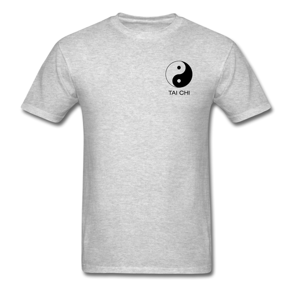 Yin and Yang Tai Chi Men's T-Shirt - heather gray