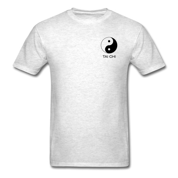 Yin and Yang Tai Chi Men's T-Shirt - light heather gray
