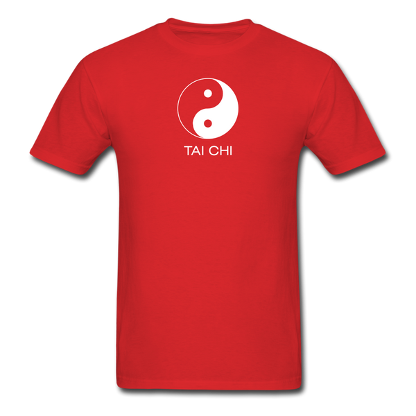 Yin and Yang Tai Chi Men's T-Shirt - red