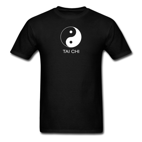 Yin and Yang Tai Chi Men's T-Shirt - black