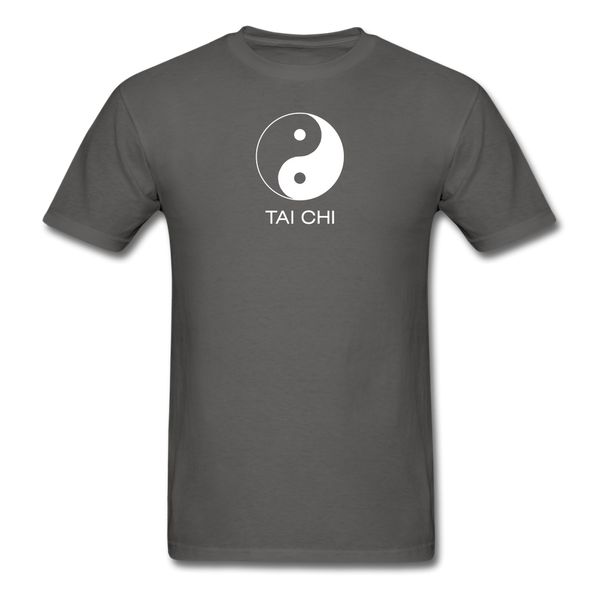 Yin and Yang Tai Chi Men's T-Shirt - charcoal