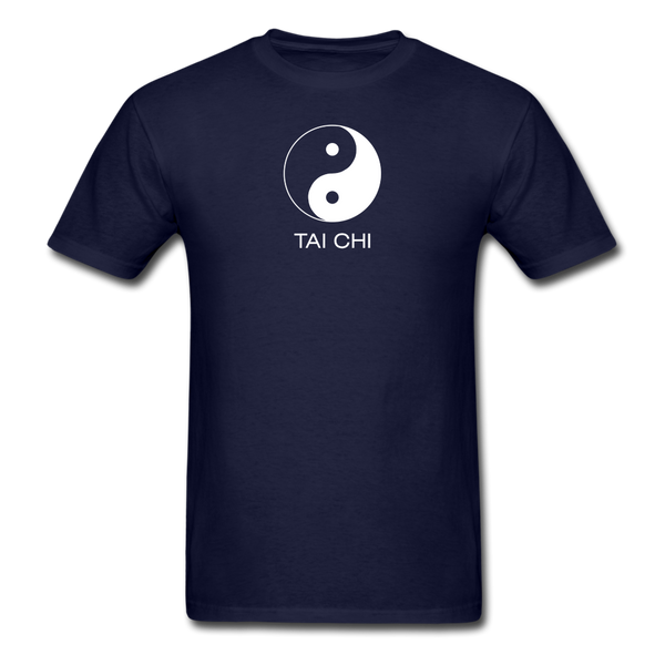 Yin and Yang Tai Chi Men's T-Shirt - navy