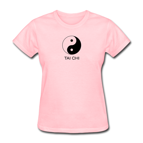 Yin and Yang Tai Chi Women's T-Shirt - pink