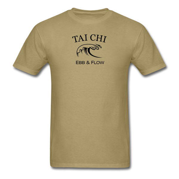 Tai Chi Ebb & Flow Men's T-Shirt - khaki