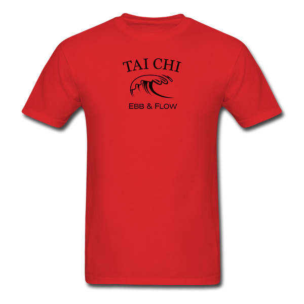 Tai Chi Ebb & Flow Men's T-Shirt - red
