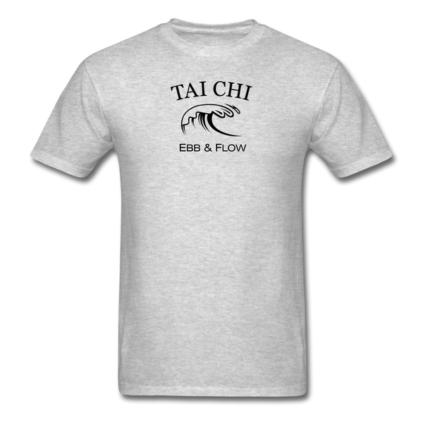 Tai Chi Ebb & Flow Men's T-Shirt - heather gray