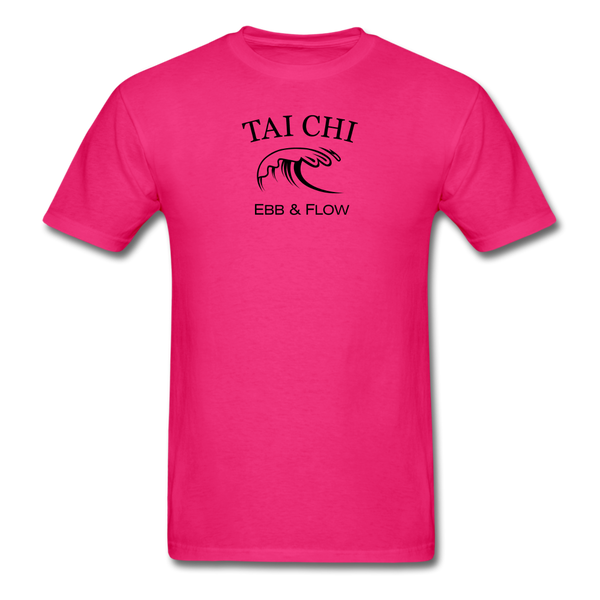 Tai Chi Ebb & Flow Men's T-Shirt - fuchsia