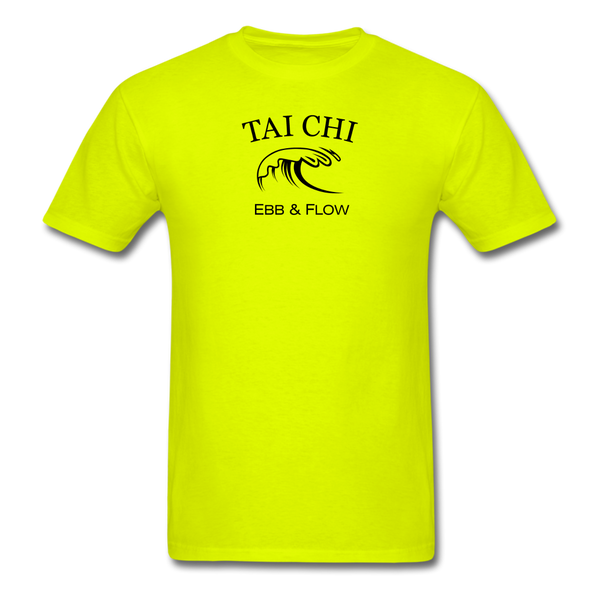 Tai Chi Ebb & Flow Men's T-Shirt - safety green