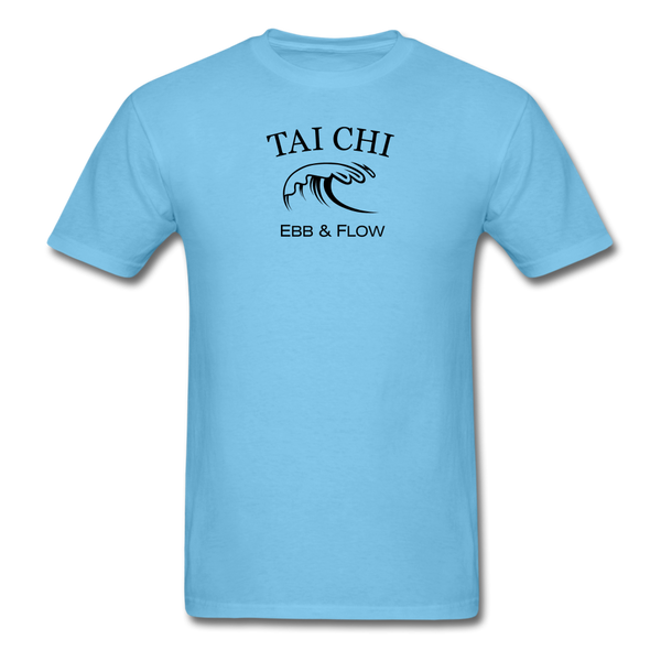 Tai Chi Ebb & Flow Men's T-Shirt - aquatic blue
