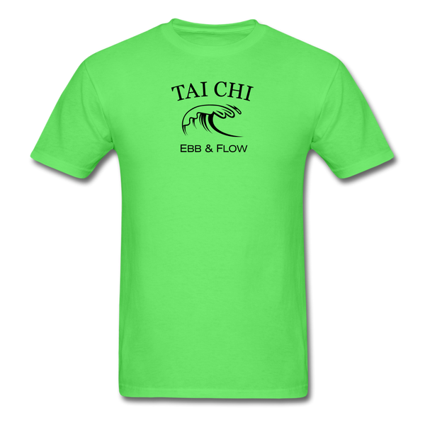 Tai Chi Ebb & Flow Men's T-Shirt - kiwi