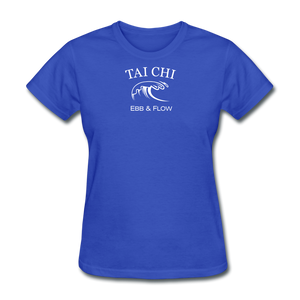 Tai Chi Ebb & Flow Women's T-Shirt - royal blue