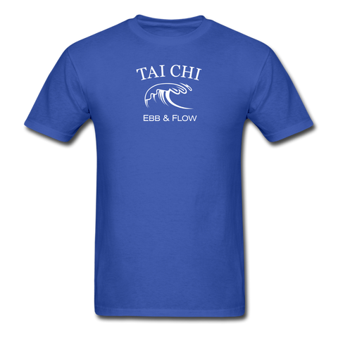 Tai Chi Ebb & Flow Men's T-Shirt - royal blue
