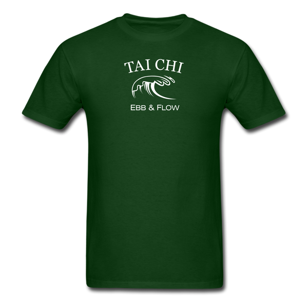 Tai Chi Ebb & Flow Men's T-Shirt - forest green