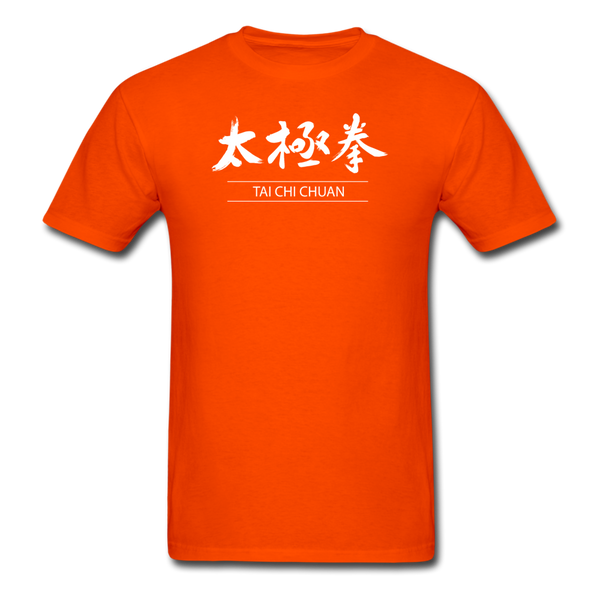Tai Chi Chuan Kanji Men's T-Shirt - orange