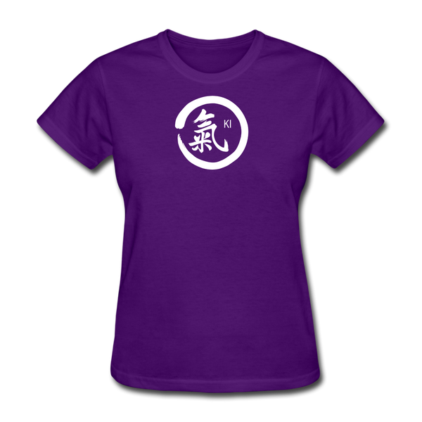 Ki Kanji Women's T Shirt - purple