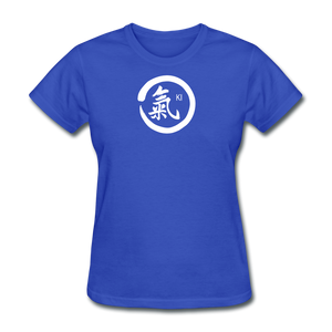 Ki Kanji Women's T Shirt - royal blue
