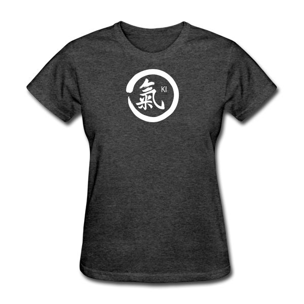 Ki Kanji Women's T Shirt - heather black