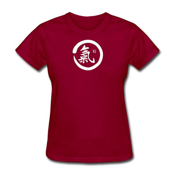 Ki Kanji Women's T Shirt - dark red