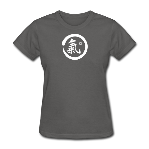 Ki Kanji Women's T Shirt - charcoal