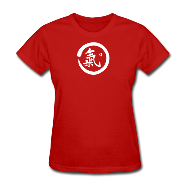 Ki Kanji Women's T Shirt - red
