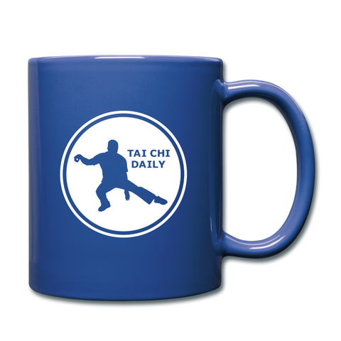 Tai Chi Daily Coffee Mug - royal blue