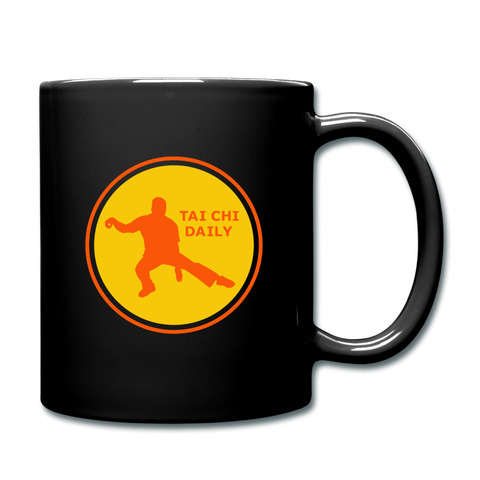 Tai Chi Daily Coffee Mug - black